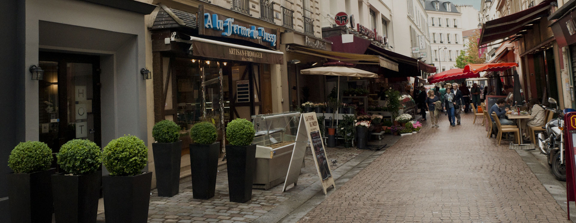 Restaurant Bienvenue La Haut Paris